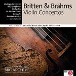 Pochette BBC Music, Volume 24, Number 1: Britten & Brahms: Violin Concertos