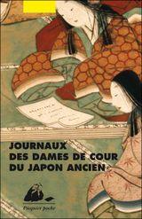 Couverture Journaux des Dames de cour du Japon ancien