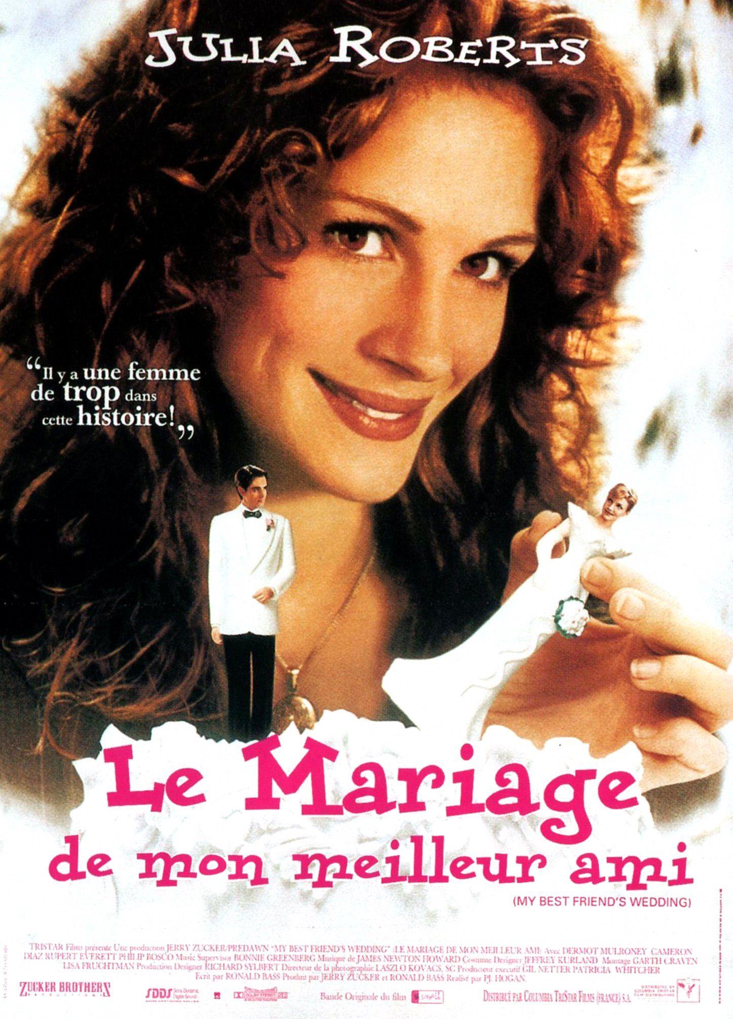 affiche le mariage de mon meilleur ami - Film De Mariage