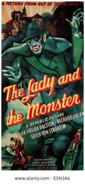 Affiche The Lady and the Monster