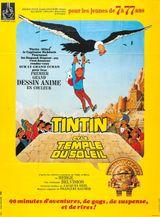 Affiche Tintin et le Temple du soleil