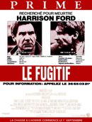 Affiche Le Fugitif