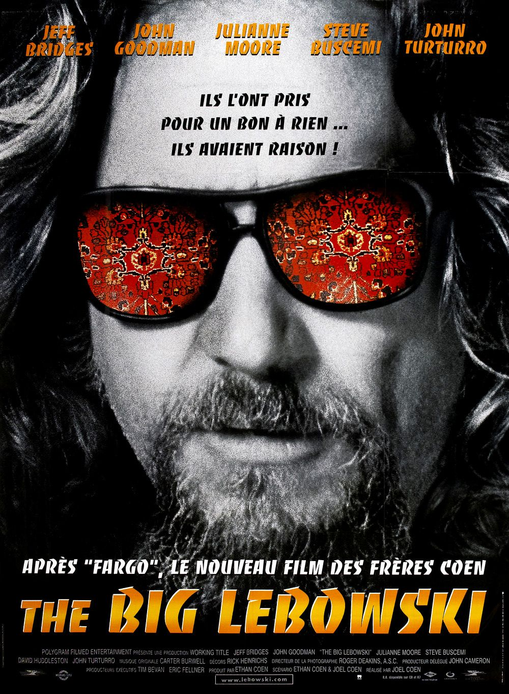 The Big Lebowski Film 1998 Senscritique