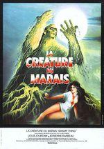 Affiche La Créature du marais