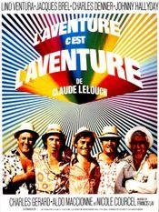 Affiche L'aventure c'est l'aventure