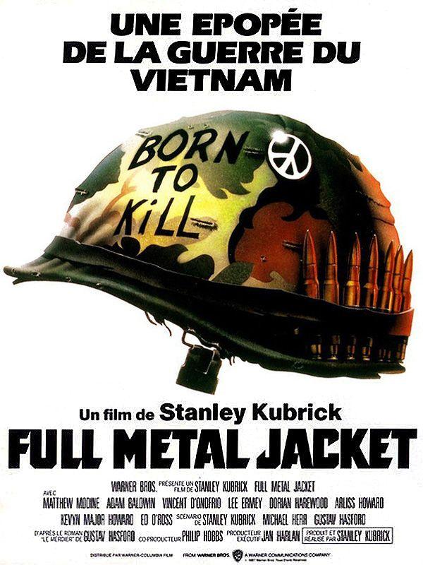 full metal jacket film 1987 senscritique. Black Bedroom Furniture Sets. Home Design Ideas