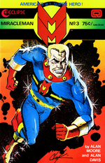 Couverture Miracleman (1982 - 1984)