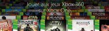 Cover Les jeux 360 rétro-compatibles sur Xbox One