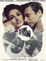 Affiche Un soir, un train