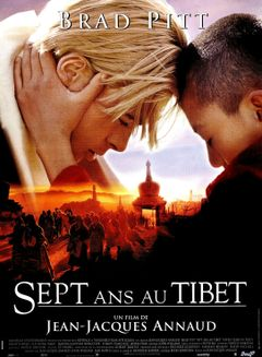 Affiche Sept ans au Tibet