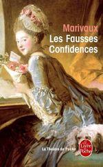 Couverture Les Fausses Confidences