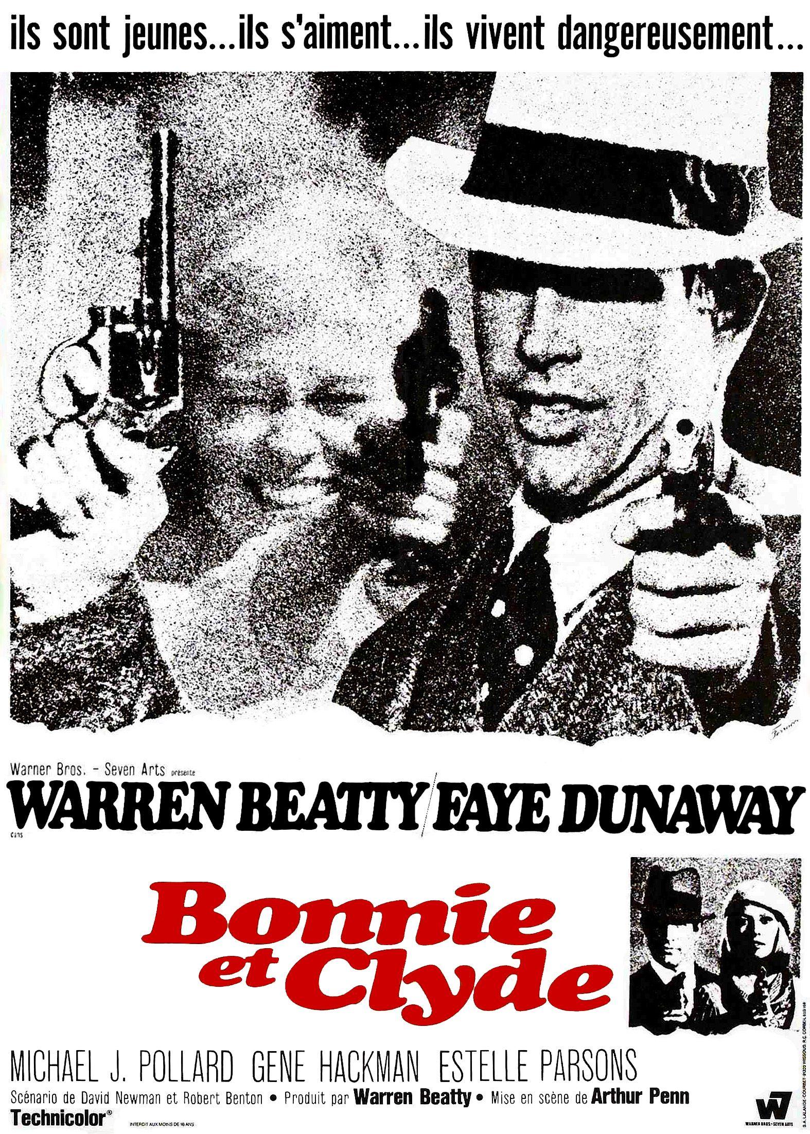 Bonnie And Clyde >> Affiches, posters et images de Bonnie et Clyde (1967 ...