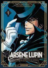 Couverture Le diadème de la Princesse de Lamballe - Arsène Lupin : L'Aventurier, tome 1