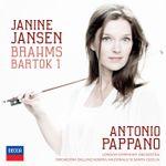 Pochette Brahms: Violin Concerto / Bartok: Violin Concerto no. 1