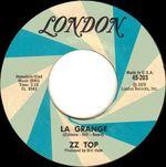 Pochette La Grange / Just Got Paid (Single)
