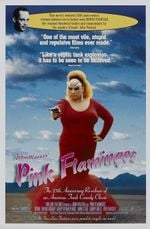 Affiche Pink Flamingos