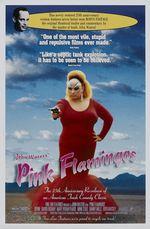 Affiche Pink Flamingos