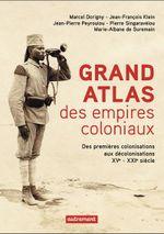 Couverture Grand atlas des empires coloniaux