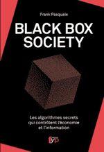 Couverture Black Box Society