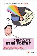 Couverture C'est quoi être poète ?