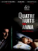 Affiche Quatre Nuits avec Anna