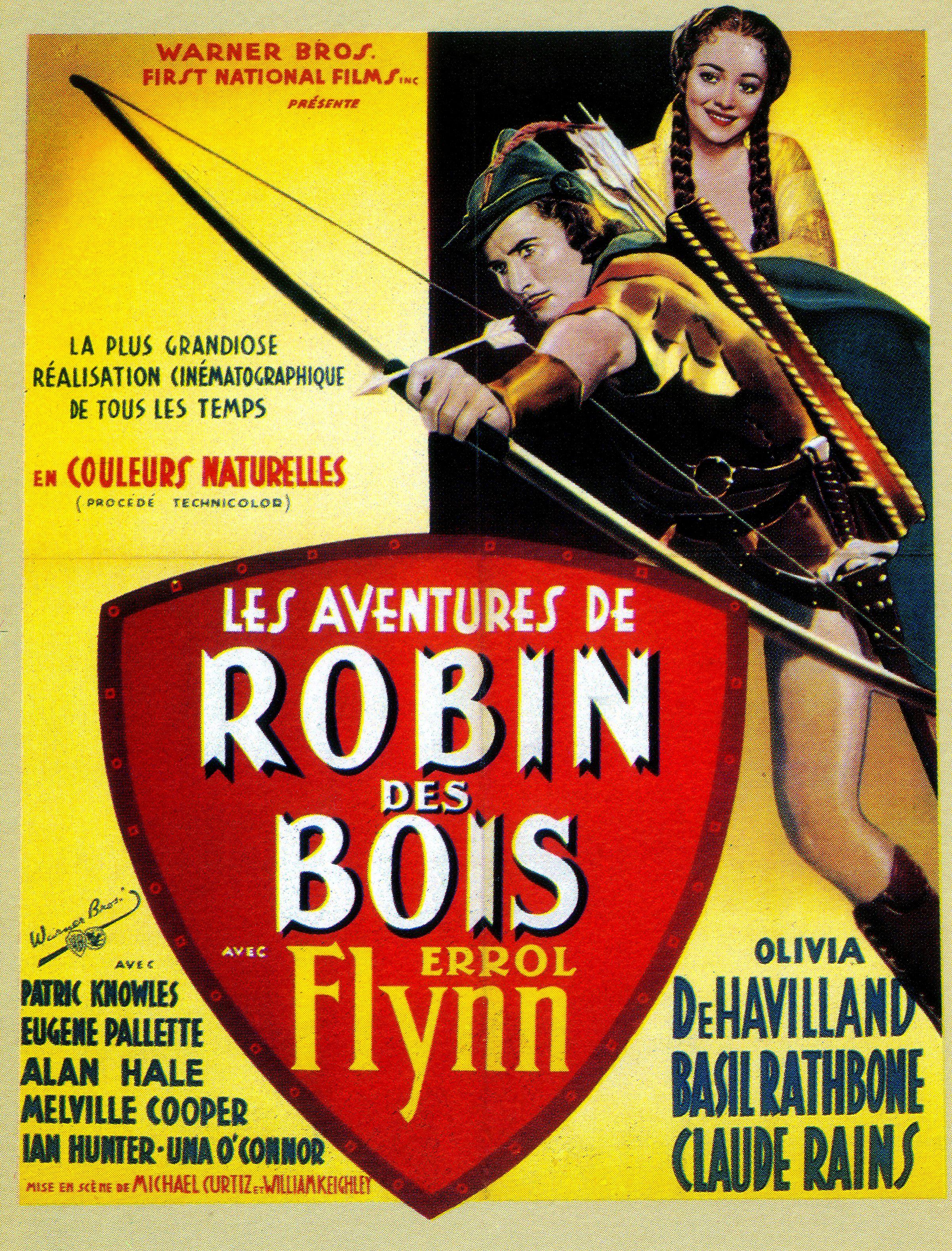 Affiches, posters et images de Les Aventures de Robin des (1938) ~ Le Robin Des Bois