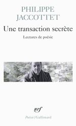 Couverture Une transaction secrète