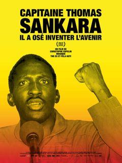 Affiche Capitaine Thomas Sankara