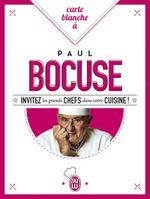 Couverture Carte blanche à Paul Bocuse