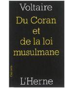 Couverture De l'Alcoran et de la loi musulmane