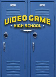 Affiche Video Game High School