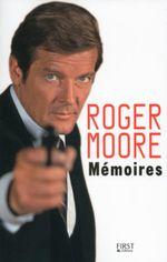 Couverture Mémoires de Roger Moore