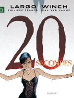 Couverture 20 secondes - Largo Winch, tome 20