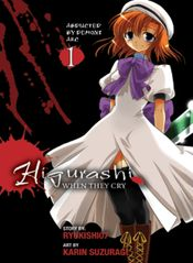Couverture Higurashi When They Cry - Abducted by Demons Arc