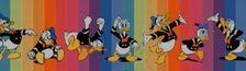 """Cover Liste des histoires contenues dans """"La Dynastie Donald Duck"""" par Glénat (2010 - 2017)"""