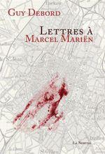 Couverture Lettres à Marcel Mariën