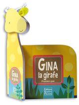 Couverture Gina la girafe