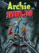 Couverture Archie VS Sharknado