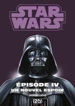 Couverture Star Wars épisode 4 : La guerre des étoiles