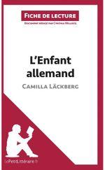 Couverture L'enfant allemand de Camilla Läckberg