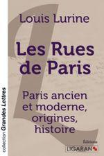 Couverture Les rues de Paris