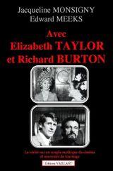 Couverture Avec Elisabeth Taylor et Richard Burton