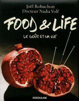 Couverture Food and life. Le goût et la vie