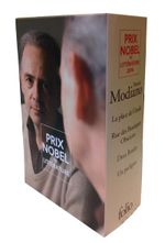 Couverture Coffret Modiano