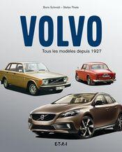 Couverture VOLVO, tous les modèles depuis 1927