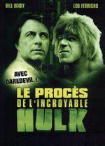 Affiche Le Procès de l'incroyable Hulk