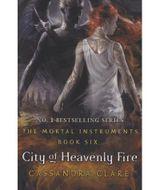 Couverture The Mortal Instruments : 6. La Cité du feu sacré