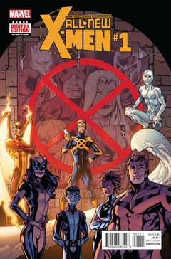Couverture All-New X-Men (2015 - 2017)