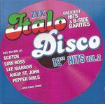 """Pochette ZYX Italo Disco: 12"""" Hits, Vol. 2"""
