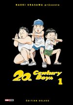 Couverture 20th Century Boys - Deluxe, tome 1